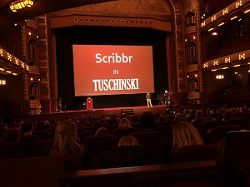 Presentatie van Scribbr in Tuschinski